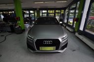Audi RSQ3 gunmetall metallic matt Folierung 6 190x126 Print Tech   Folierungen an Golf, GT3 RS, RSQ3 & SL55 AMG & Co.