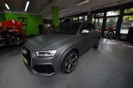 Audi RSQ3 gunmetall metallic matt Folierung 7 190x126 Print Tech   Folierungen an Golf, GT3 RS, RSQ3 & SL55 AMG & Co.