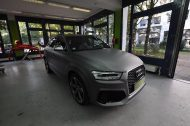 Audi RSQ3 gunmetall metallic matt Folierung 8 190x126 Print Tech   Folierungen an Golf, GT3 RS, RSQ3 & SL55 AMG & Co.
