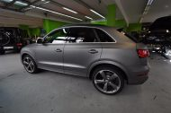 Audi RSQ3 gunmetall metallic matt Folierung 9 190x126 Print Tech   Folierungen an Golf, GT3 RS, RSQ3 & SL55 AMG & Co.