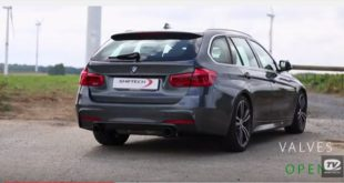 BMW 340i F31 Touring B48 Tuning Akrapovic 1 310x165 205PS & 477NM im Jaguar XE 2.0d von Shiftech Engineering
