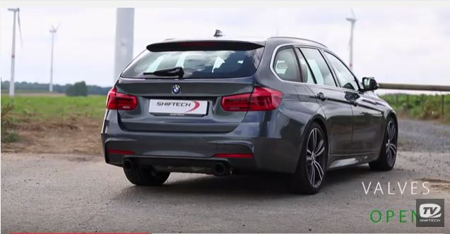 soundcheck bmw 340i f31 touring mit akrapovic auspuff. Black Bedroom Furniture Sets. Home Design Ideas
