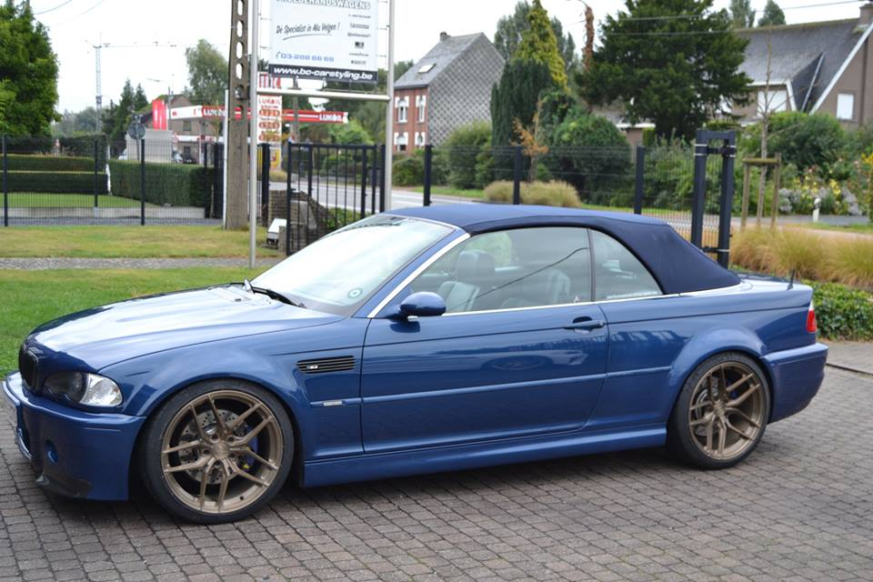 Bmw E46 M3 Auf 19 Zoll Z Performance Wheels Zp2 1