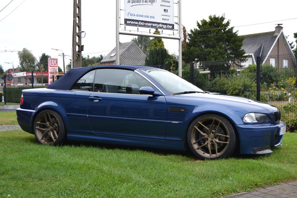 BMW E46 M3 19 Zoll Z Performance Wheels ZP2.1 2 BMW E46 M3 auf 19 Zoll Z Performance Wheels ZP2.1