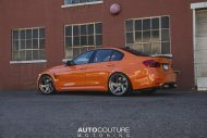 BMW F80 M3 Fire Orange Velos D5 tuning 3 190x127 AUTOcouture Motoring BMW F80 M3 in Fire Orange auf Velos Alu's