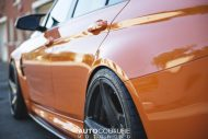 BMW F80 M3 Fire Orange Velos D5 tuning 4 190x127 AUTOcouture Motoring BMW F80 M3 in Fire Orange auf Velos Alu's