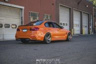 BMW F80 M3 Fire Orange Velos D5 tuning 7 190x127 AUTOcouture Motoring BMW F80 M3 in Fire Orange auf Velos Alu's