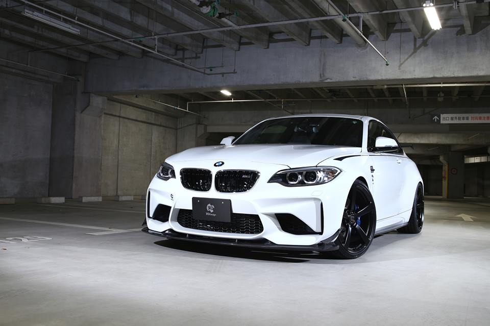 BMW M2 F87 Carbon Bodykit 3D Design Tuning 1 BMW M2 F87 Coupé mit Carbon Bodykit von 3D Design