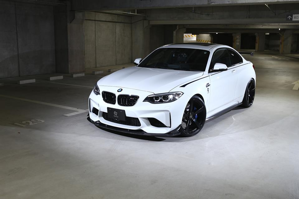 BMW M2 F87 Carbon Bodykit 3D Design Tuning 3 BMW M2 F87 Coupé mit Carbon Bodykit von 3D Design