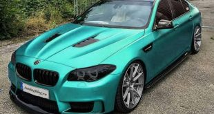 BMW M5 F10 Hellblau Tuning 310x165 Liberty Walk Widebody Audi A5 Coupe by tuningblog.eu