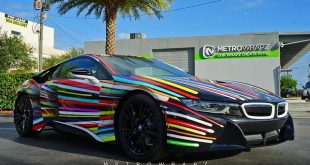 BMW i8 Jeff Koons Art Car tuning 1 310x165 Fotostory: BMW i8 im Jeff Koons Art Car Style by Metro Wrapz