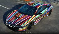 BMW i8 Jeff Koons Art Car tuning 4 190x111 Fotostory: BMW i8 im Jeff Koons Art Car Style by Metro Wrapz
