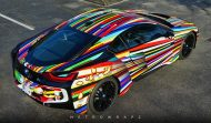 BMW i8 Jeff Koons Art Car tuning 5 190x111 Fotostory: BMW i8 im Jeff Koons Art Car Style by Metro Wrapz