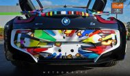 BMW i8 Jeff Koons Art Car tuning 6 190x111 Fotostory: BMW i8 im Jeff Koons Art Car Style by Metro Wrapz