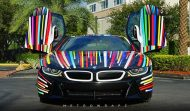 BMW i8 Jeff Koons Art Car tuning 8 190x111 Fotostory: BMW i8 im Jeff Koons Art Car Style by Metro Wrapz