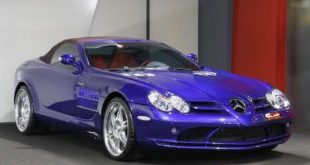 Brabus Mercedes Benz SLR Roadster Royal Blue Tuning 1 1 e1475320061383 310x165 410PS & 570NM im kleinen Mercedes GLE43 AMG by Brabus
