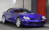 Brabus Mercedes Benz SLR Roadster Royal Blue Tuning 1 190x116 Fotostory: Brabus Mercedes Benz SLR Roadster in Royal Blue