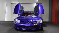 Brabus Mercedes Benz SLR Roadster Royal Blue Tuning 12 190x107 Fotostory: Brabus Mercedes Benz SLR Roadster in Royal Blue