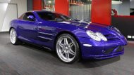 Brabus Mercedes Benz SLR Roadster Royal Blue Tuning 17 190x107 Fotostory: Brabus Mercedes Benz SLR Roadster in Royal Blue