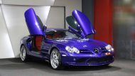 Brabus Mercedes Benz SLR Roadster Royal Blue Tuning 2 190x107 Fotostory: Brabus Mercedes Benz SLR Roadster in Royal Blue