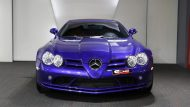 Brabus Mercedes Benz SLR Roadster Royal Blue Tuning 3 190x107 Fotostory: Brabus Mercedes Benz SLR Roadster in Royal Blue