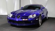 Brabus Mercedes Benz SLR Roadster Royal Blue Tuning 4 190x107 Fotostory: Brabus Mercedes Benz SLR Roadster in Royal Blue