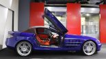 Brabus Mercedes Benz SLR Roadster Royal Blue Tuning 7 155x87 brabus mercedes benz slr roadster royal blue tuning 7