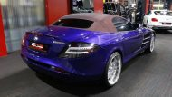 Brabus Mercedes Benz SLR Roadster Royal Blue Tuning 9 190x107 Fotostory: Brabus Mercedes Benz SLR Roadster in Royal Blue
