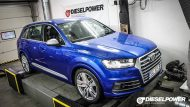 Dieselpower Chiptuning Audi SQ7 TDI 4M 4 190x107 Video: 473PS & 945NM im Dieselpower Audi SQ7 TDI
