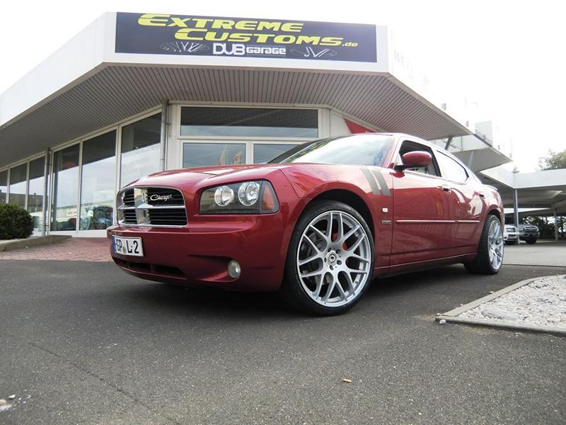 Dodge Charger RT Schmidt Gambit Tuning 1 Dodge Charger R/T auf 21 Zoll Alu's by Extreme Customs Germany