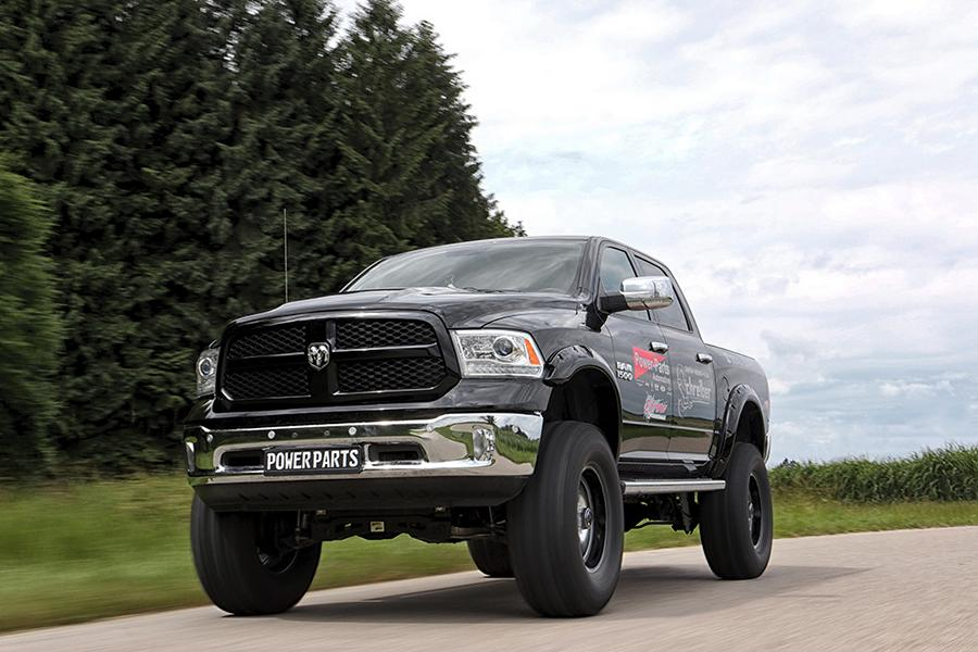Dodge RAM 1500 XXL Höherlegung 1 32cm höher   Fetter Dodge RAM 1500 XXL von Power Parts