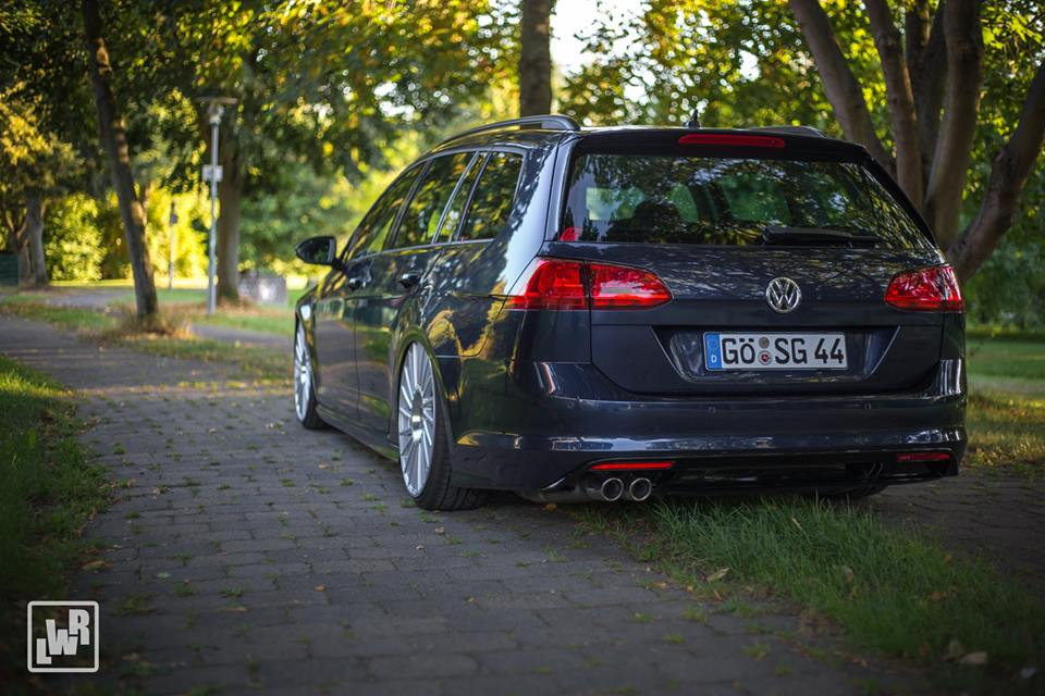 Eah Customs Vw Golf Variant 7 R Line On Eta Beta Alu S