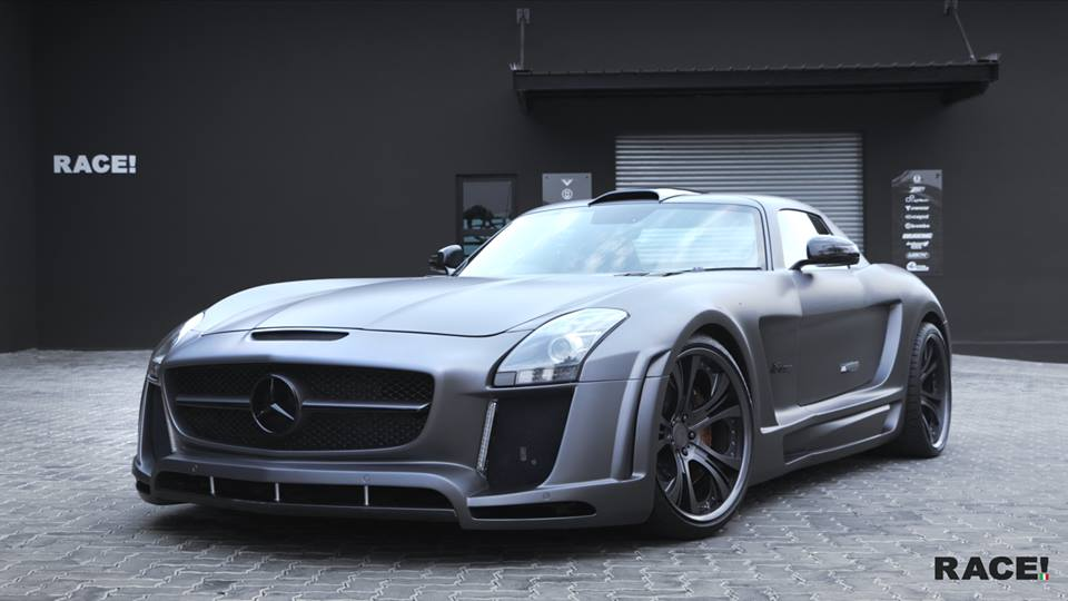 FAB Design Widebody Mercedes Benz SLS AMG Tuning 1 Full House   Widebody Mercedes Benz SLS AMG von Race! South Africa
