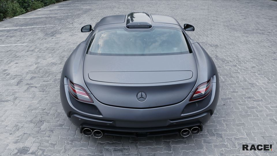 FAB Design Widebody Mercedes Benz SLS AMG Tuning 2 Full House   Widebody Mercedes Benz SLS AMG von Race! South Africa