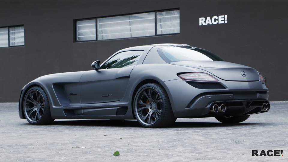 FAB Design Widebody Mercedes Benz SLS AMG Tuning 3 Full House   Widebody Mercedes Benz SLS AMG von Race! South Africa