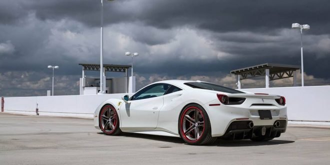 Ferrari 488 GTB auf schicken HRE S207 Alu's by Wheels Boutique