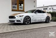 Ford Mustang Folierung Diamond White Tuning 1 190x127 Ford Mustang in Diamond White by SchwabenFolia CarWrapping