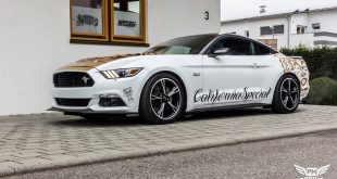 Ford Mustang Folierung Diamond White Tuning 1 310x165 Ford Mustang Steeda Q750 Streetfighter mit 825PS & 888NM