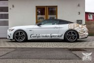 Ford Mustang Folierung Diamond White Tuning 2 190x127 Ford Mustang in Diamond White by SchwabenFolia CarWrapping
