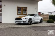 Ford Mustang Folierung Diamond White Tuning 3 190x127 Ford Mustang in Diamond White by SchwabenFolia CarWrapping