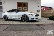 Ford Mustang Folierung Diamond White Tuning 8 190x127 Ford Mustang in Diamond White by SchwabenFolia CarWrapping