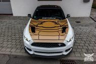 Ford Mustang Folierung Diamond White Tuning 9 190x127 Ford Mustang in Diamond White by SchwabenFolia CarWrapping