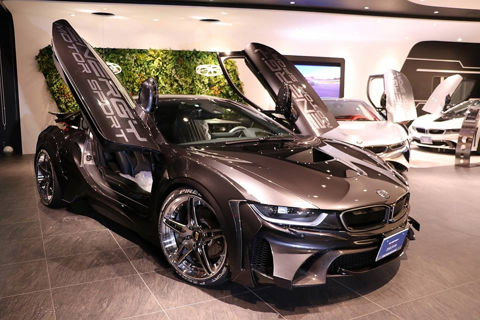 Garage Eve Ryn Bmw I8 Carbon Edition On 21 Inch Bbs Aluminum S