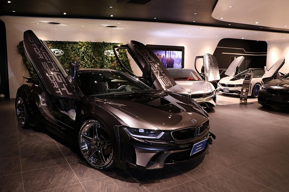 Garage eve ryn bmw i8 carbon edition bodykit bbs 33 for Garage bmw 33
