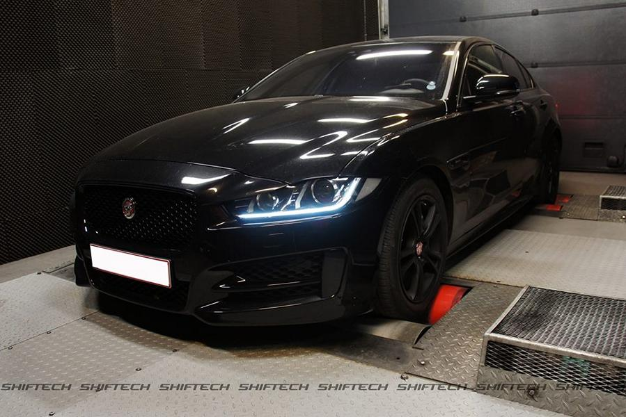 Jaguar XE 2.0d Chiptuning 3 205PS & 477NM im Jaguar XE 2.0d von Shiftech Engineering
