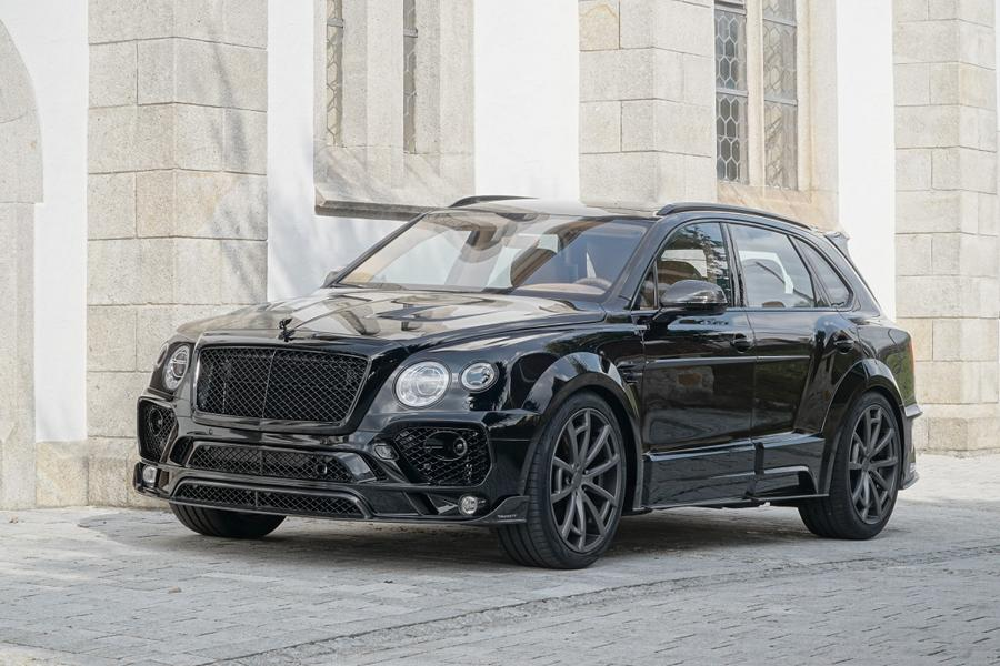 MANSORY Bentayga Tuning 2016 2 Offiziell: Mansory Widebody Kit für den Bentley Bentayga