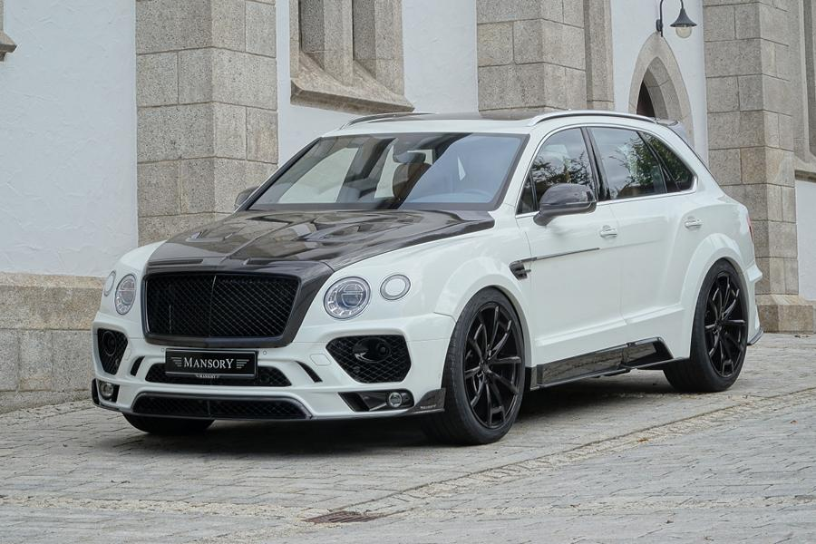 MANSORY Bentayga Tuning 2016 4 Offiziell: Mansory Widebody Kit für den Bentley Bentayga