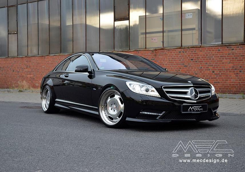 MEC Design Mercedes Benz W216 CL500 Tuning 1 MEC Design Mercedes Benz W216 CL500 auf 20 Zoll Alu's