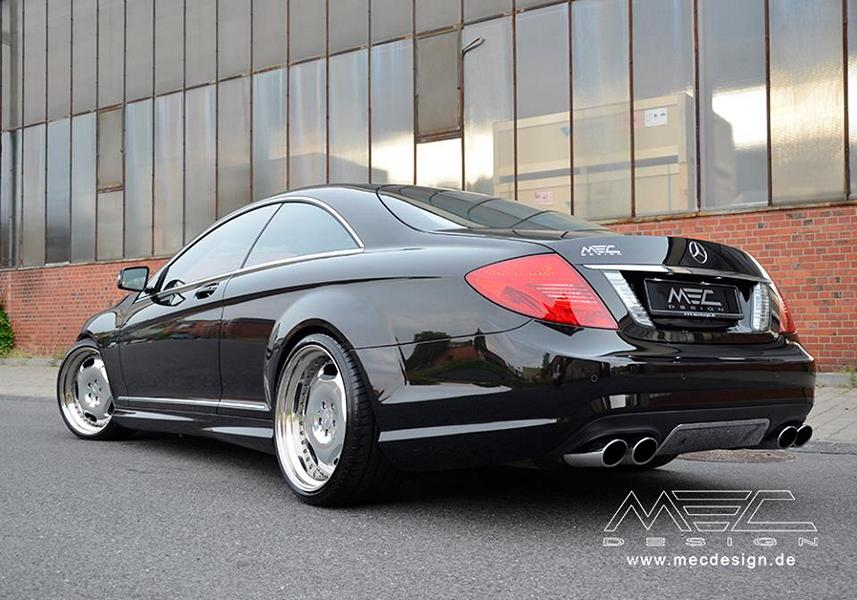 MEC Design Mercedes Benz W216 CL500 Tuning 3 MEC Design Mercedes Benz W216 CL500 auf 20 Zoll Alu's