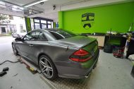 Mercedes SL63 AMG Satin grey metallic matt Folierung 1 190x126 Print Tech   Folierungen an Golf, GT3 RS, RSQ3 & SL55 AMG & Co.